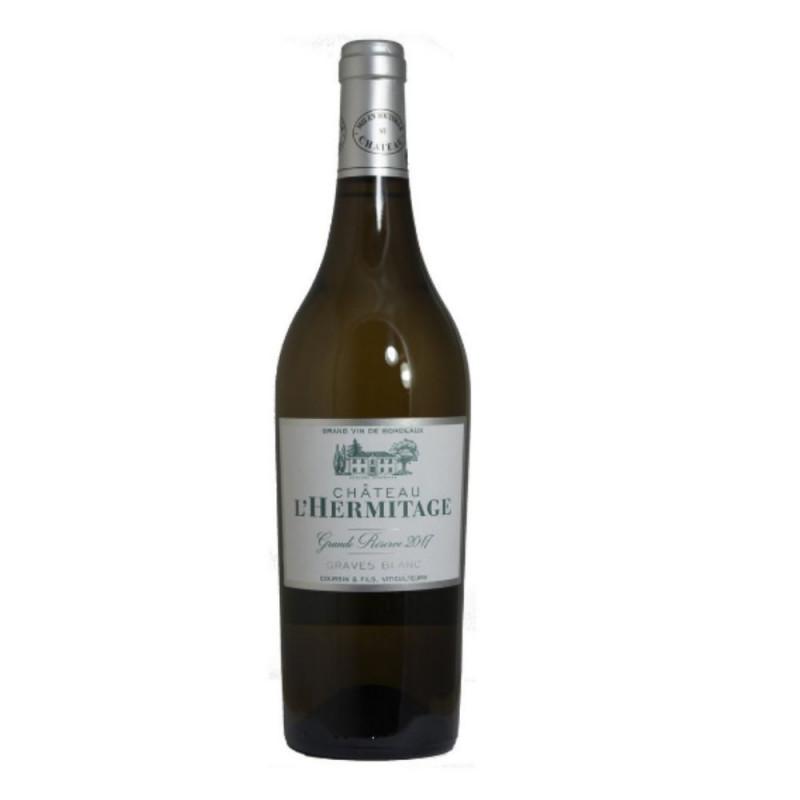 Vinho Branco Graves Blanc Château L Hermitage Grande Réserve