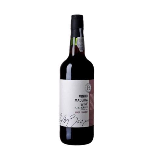 Vinho Madeira HM Borges Doce 3 Anos