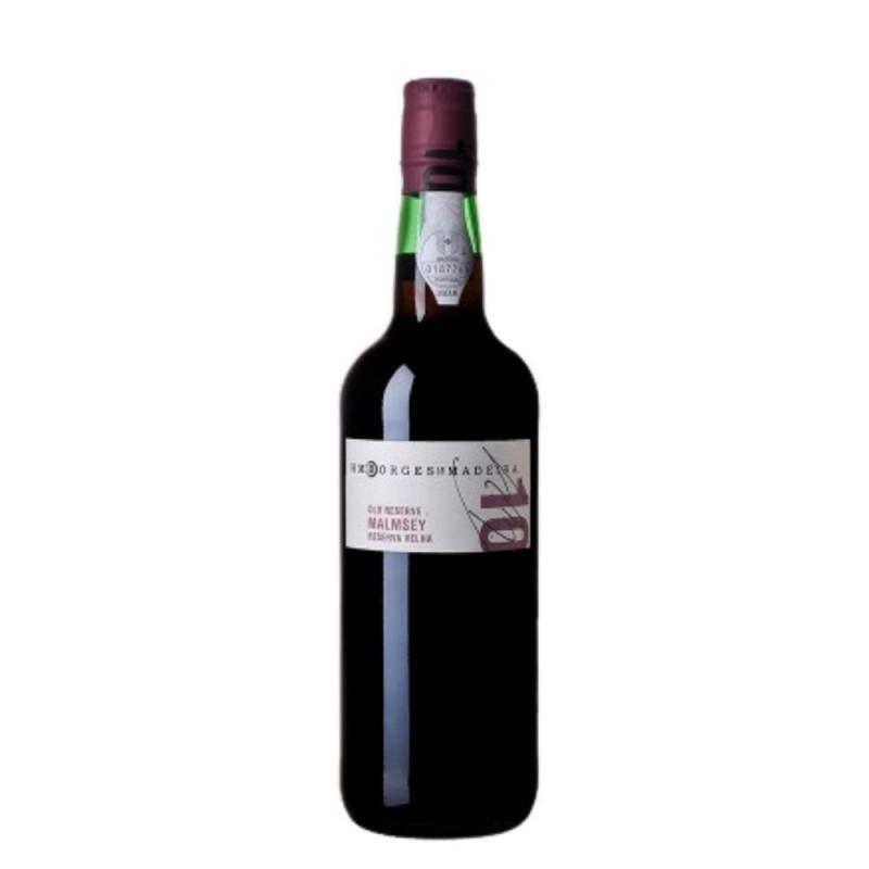 Vinho Madeira HM Borges Doce Malmsey 10 Anos