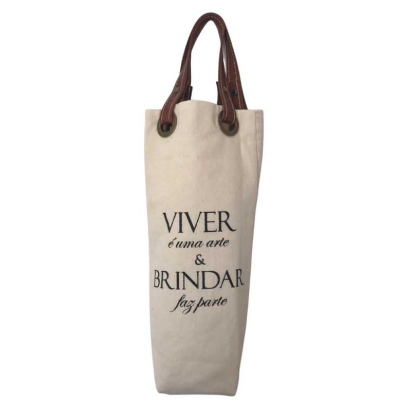 Wine Bag Sustentável - Viver é uma Arte