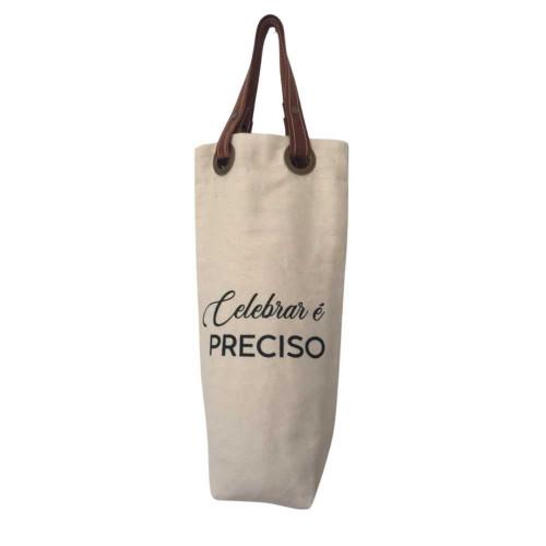 Wine Bag Sustentável - Celebrar é Preciso