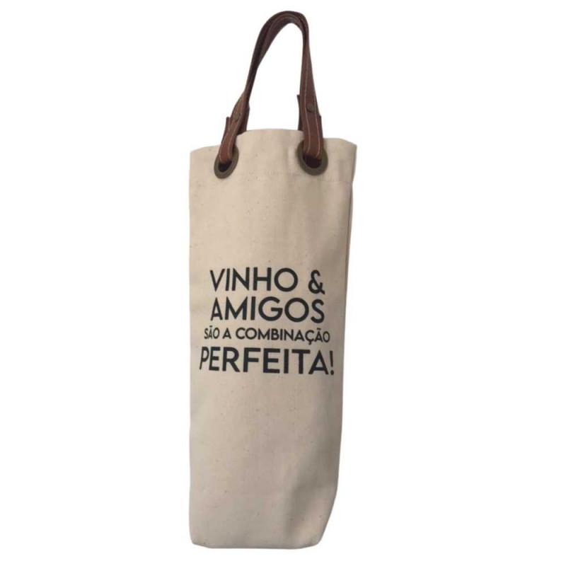 Wine Bag Sustentável - Combinação Perfeita