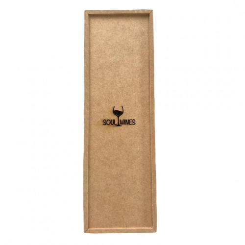 Caixa de Presente Soul Wines em madeira para 1 vinho