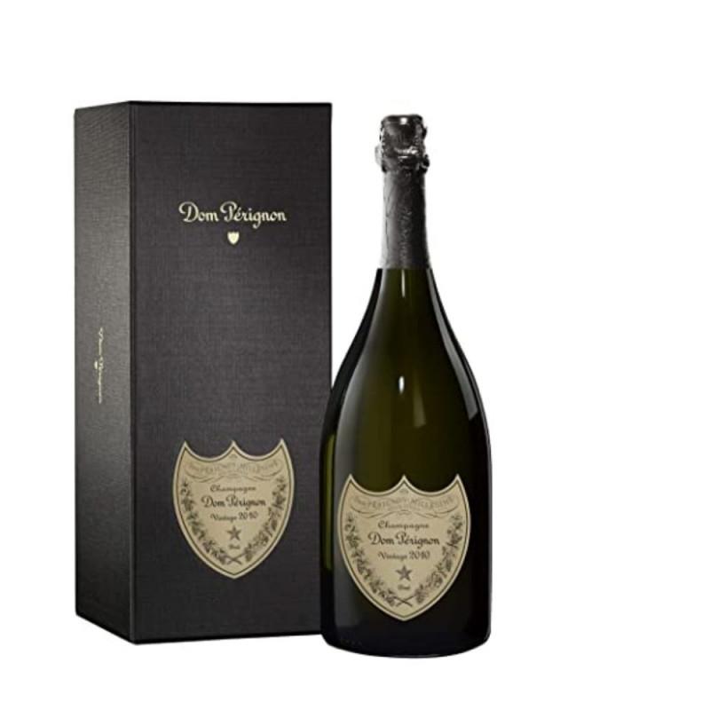 Champagne Dom Pérignon Blanc Vintage 2010 com estojo