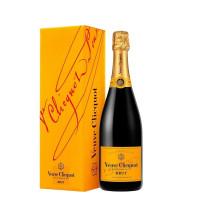 Champagne Veuve Clicquot Brut com Cartucho