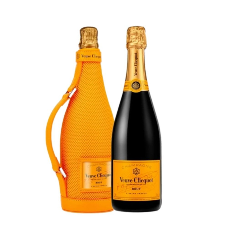Champagne Veuve Clicquot Brut com New Ice Jacket