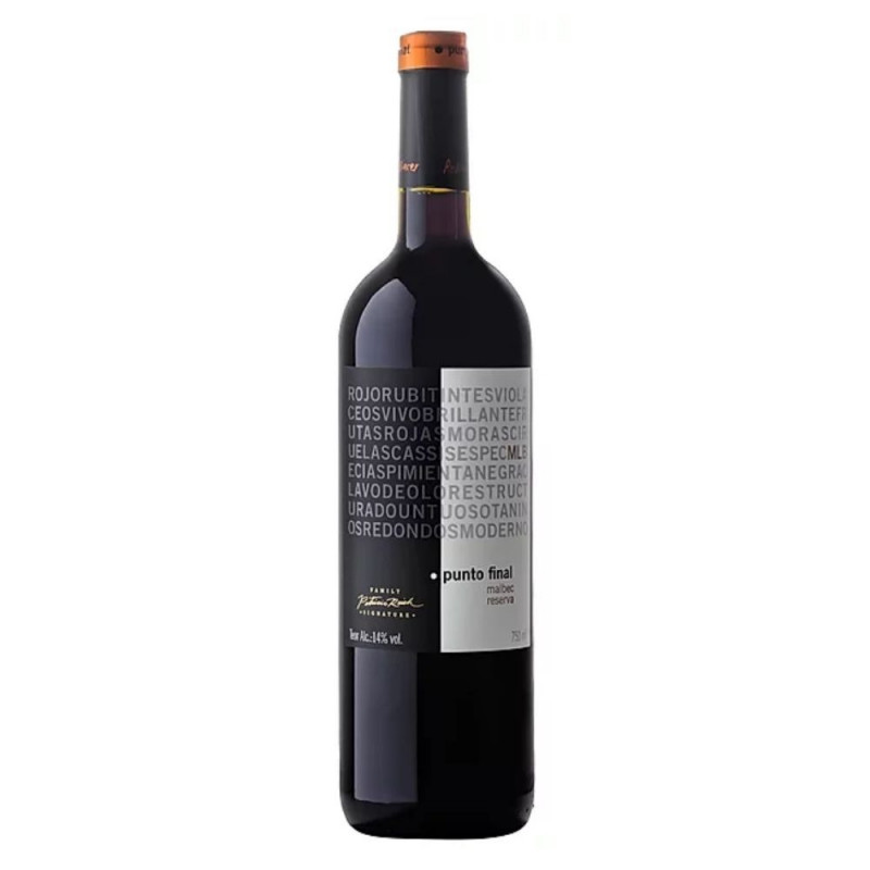 Vinho Tinto Punto Final Family Signature Reserva Malbec