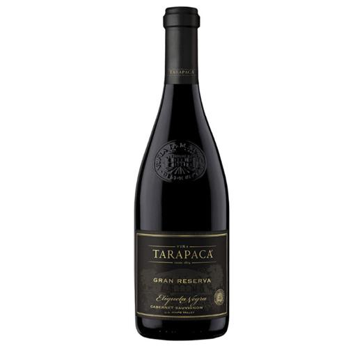 Vinho Tinto Tarapacá Gran Reserva Etiqueta Negra 2018