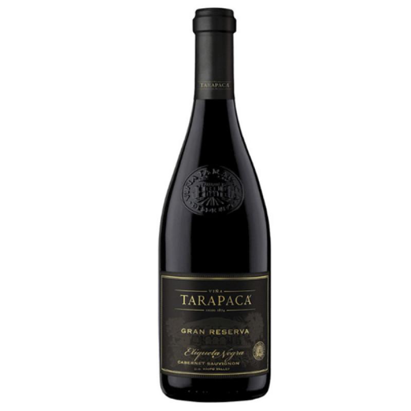 Vinho Tinto Tarapacá Gran Reserva Etiqueta Negra 2017