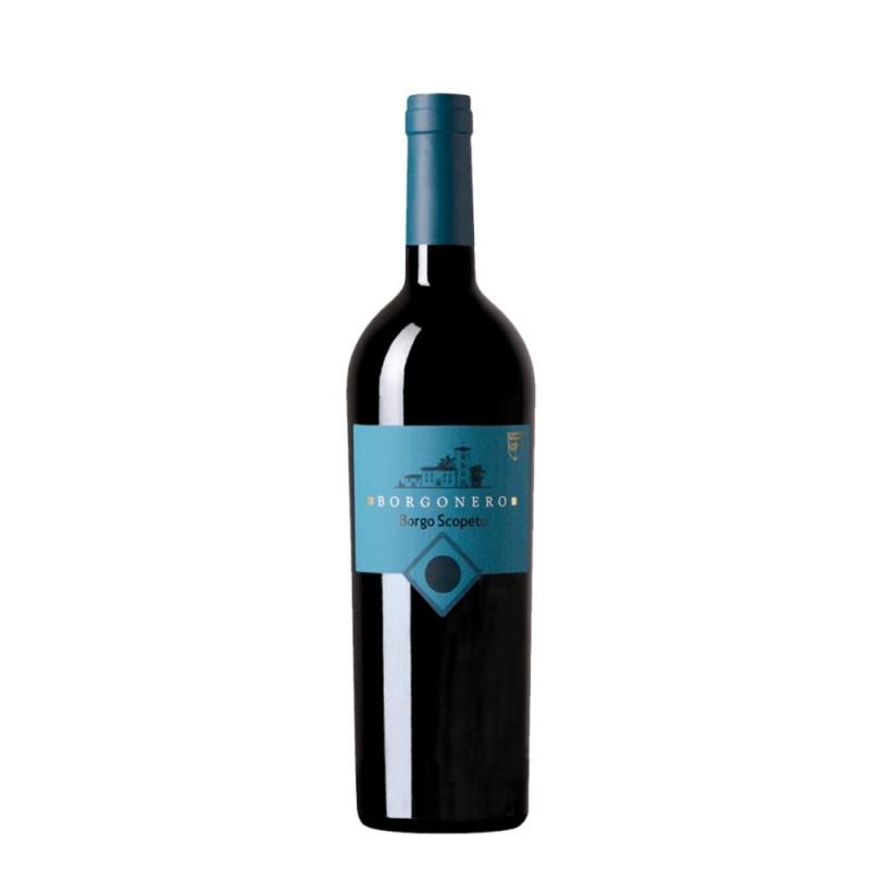 Vinho Tinto Borgonero Borgo Scopeto IGT Toscana Super Toscano 2016
