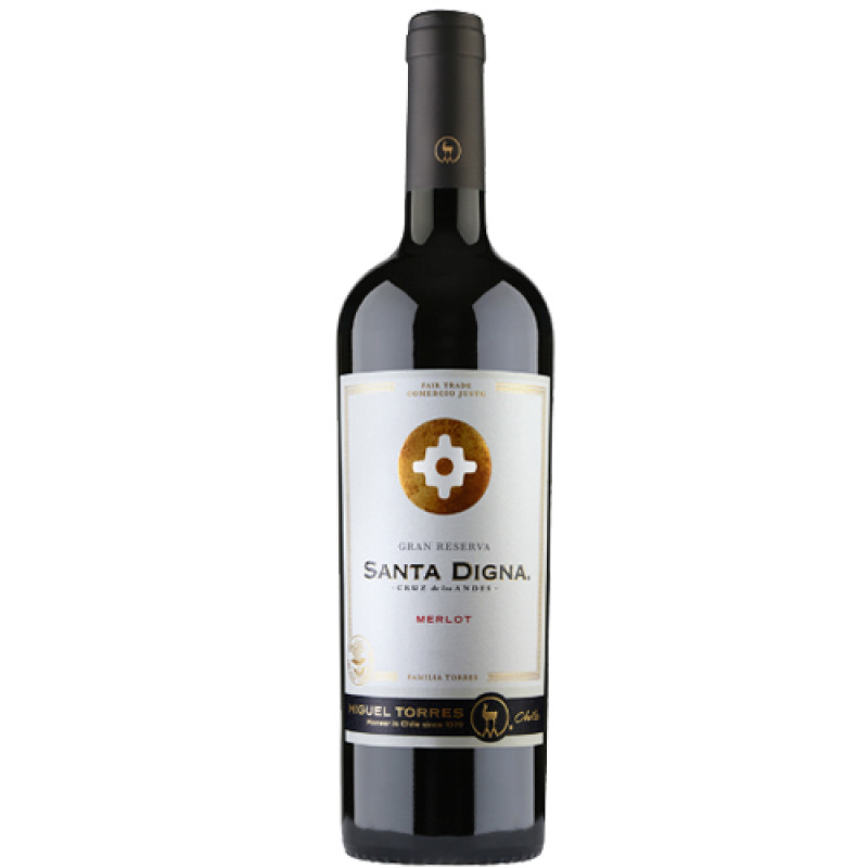 Vinho Tinto Santa Digna Merlot
